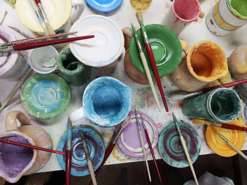 Kolorowa pracownia ceramiki
