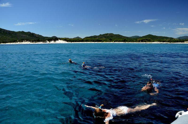 sardynia snorkeling capo comino siniscola wycieczki