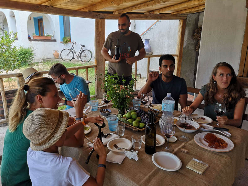 sardynia siniscola baronia degustacja aperitif winnica la caletta wycieczki beata garmcarska tentadore